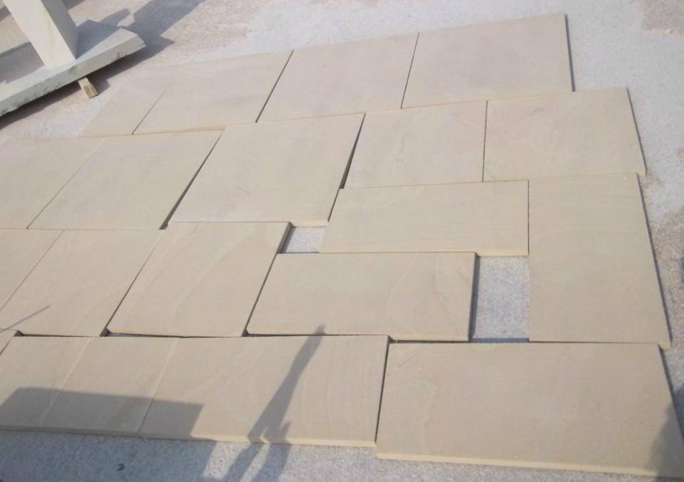 Decorative natural sandstone exterior stone veneer