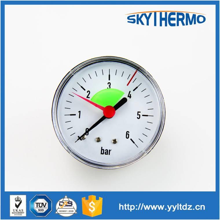 oil temperature meter high low heat-supply pipe network pressure gauge