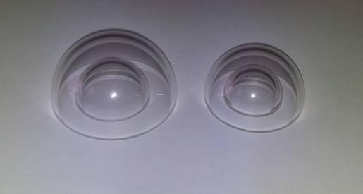 Fused Silica dome lens