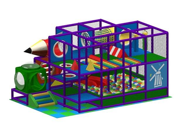 Safety Adventure Castle Series Indoor Playground Equipment WD-AD126