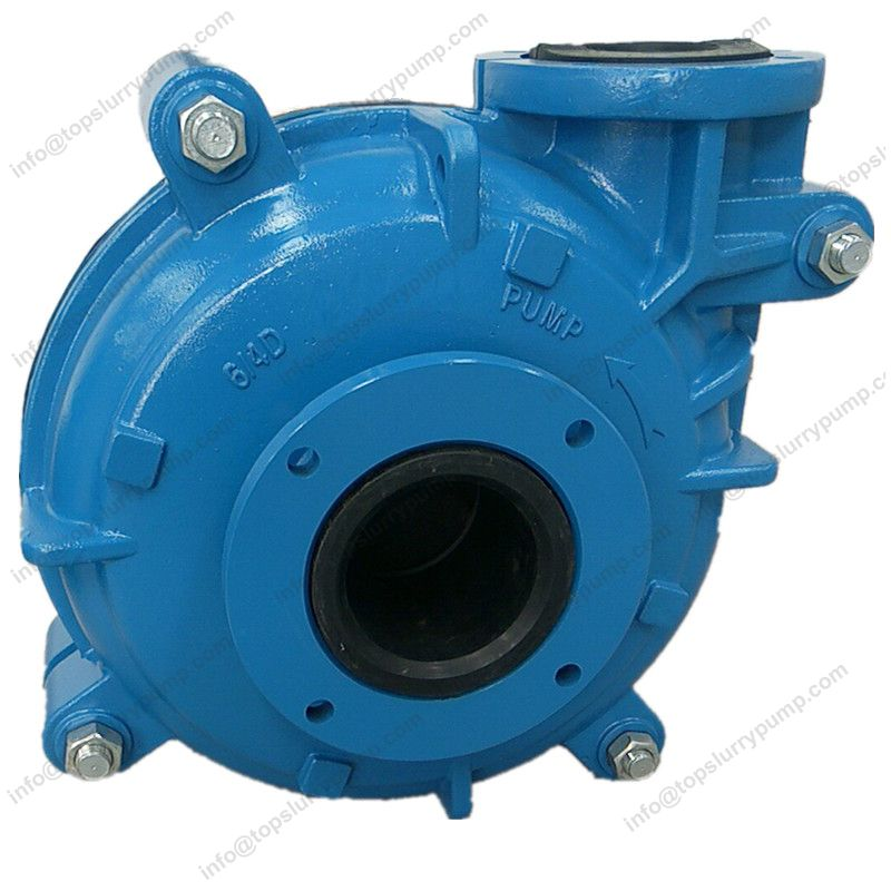 Rubber lined centrifugal ash slurry pump metal liner mine dewatering pumps