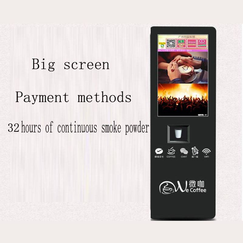Coffee Vending Machine Automatic Cup Falling Intelligent Management China Wholesale