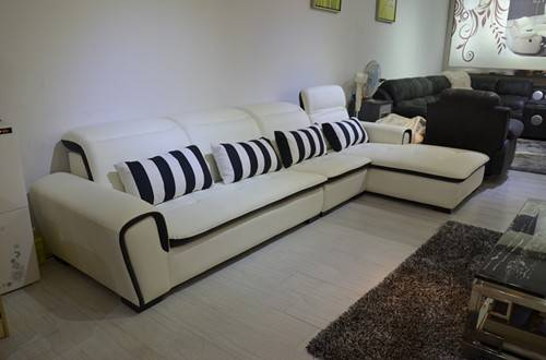 Sectionals leather sofa h991