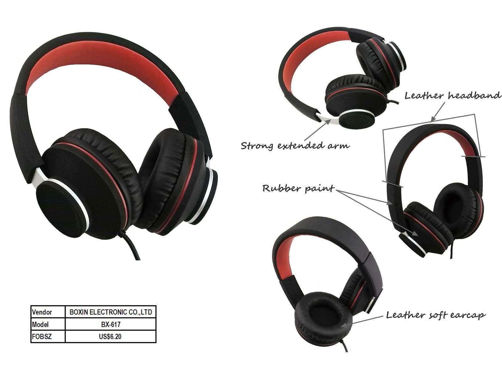 Stereo headphone new Media Microphone