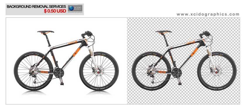 We remove the background of images from just $0.50 an image - try today for free