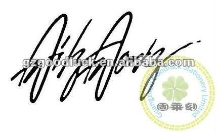 Creat your special signature stamps