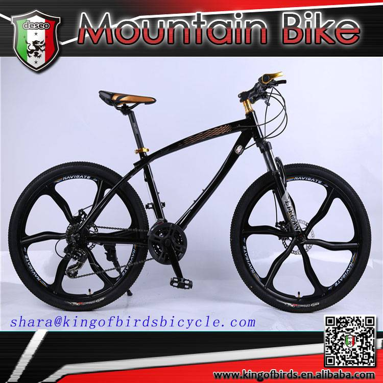 new design mountain bike with 6 spoke wheel aluminum alloy cool mtb