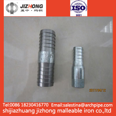 Steel Pipe and Nipple Hose Adapter