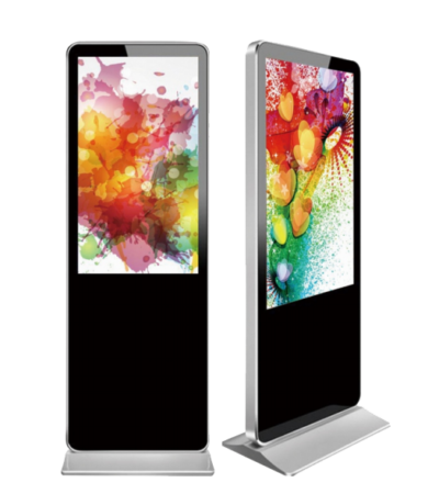 interactive touch screen totem lcd display indoor screen