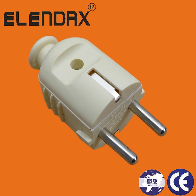 EU 2 pin plug with earth(P7053)
