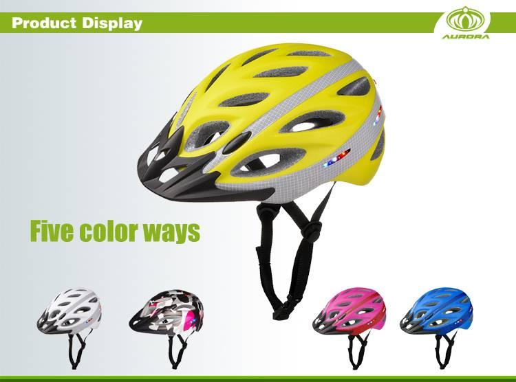 Bike light helmet mount, bicycle helmet led lights AU-L01