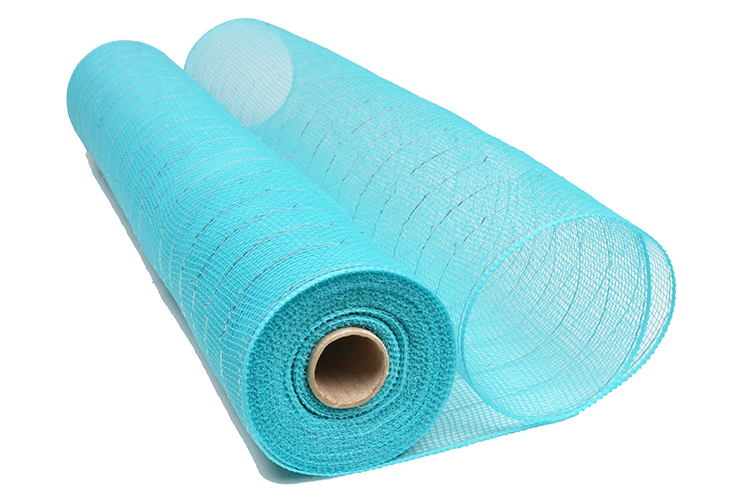 21inch10yard turquoise plastic strip christmas deco mesh for 20S22