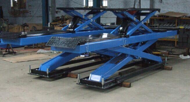 New design wheel alignment scissor car lift 3500kgs