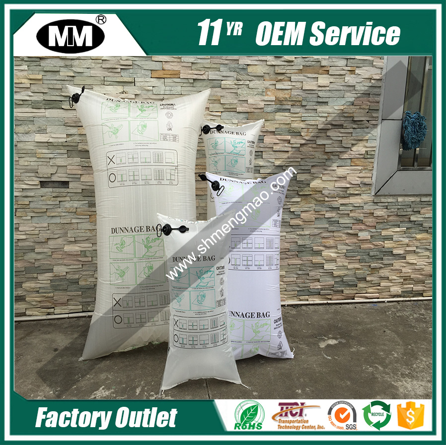 cargo inflate air dunnage bags pp woven material