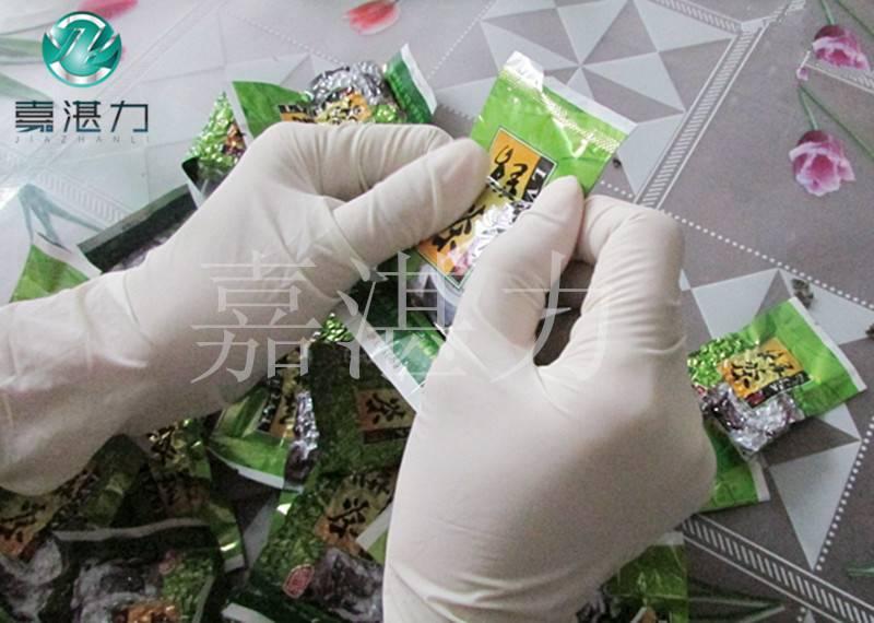 non-sterile powder &powder free good quality latex gloves