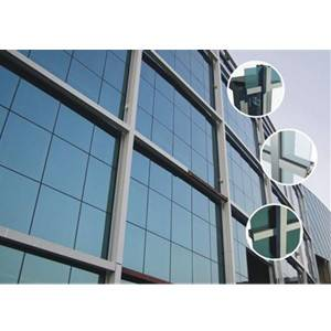 China Exposed Aluminium Frame Glass Curtain Wall