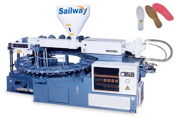SW-SZEA-600×20 Full-automatic Rotary Type Of Single-color Plastic Shoes Injection Molding Machine