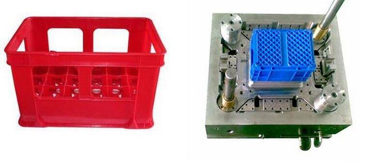 High Quality Vegetable, Bread, Fruit Crate Plastic Injection Mould & Basket Mold Tooling