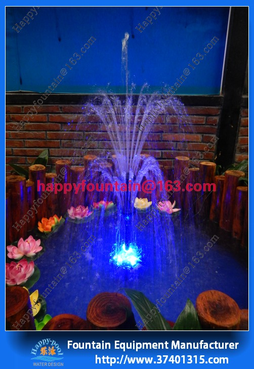 Indoor or outdoor decoration three tier small flower fountain