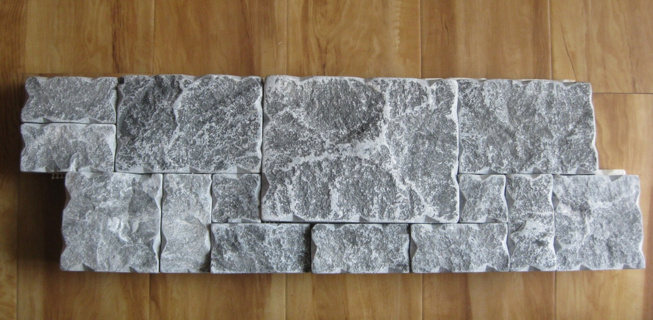 archaized brick tile for wall covering