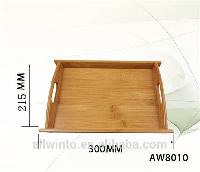 2015 new product bamboo serving tray