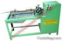 Conveyor belt wire mesh machine