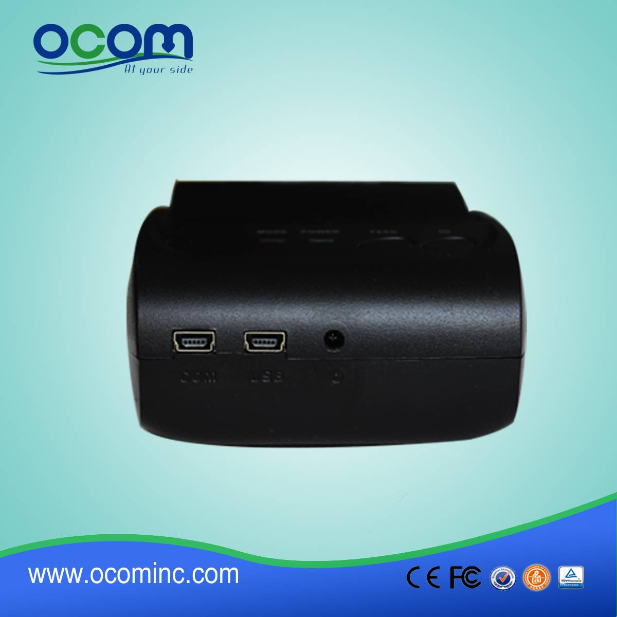 58MM portable bluetooth thermal printer support andriod