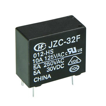 SUBMINIATURE  POWER  RELAY (JZC-32F)