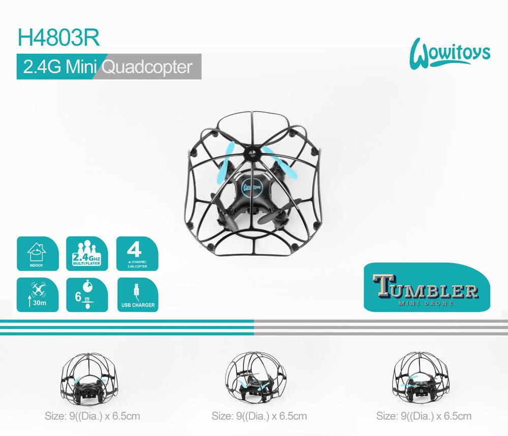 2.4G Mini drone tumbler and drone with cage,mini drone and multicopter with camera and multirotor