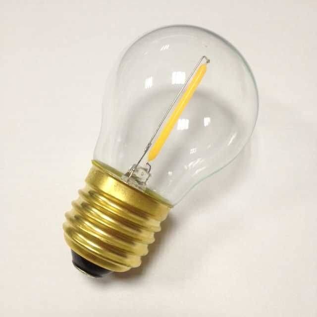 small globe lamp G16 1W led filament led lighting