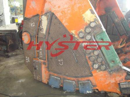 bucket excavator wear parts bimetallic hardfacing impact wear blocks