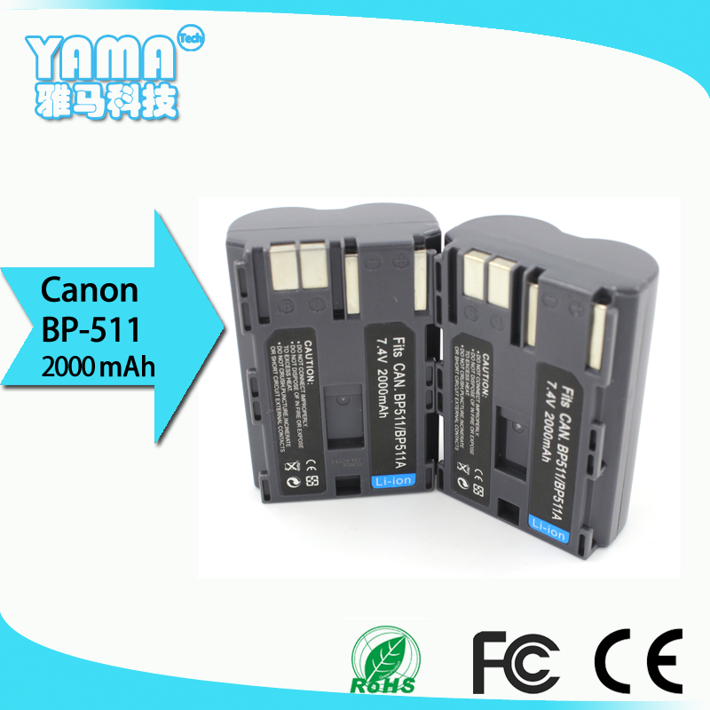 manufacturers directly sell Digital Camera Battery for Canon Bp-511/Bp-511A Bp 511 512 OEM
