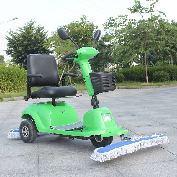 three wheel Electric Dust Sweeper with seat