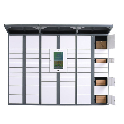 automated parcel locker//outdoor locker parcel locker