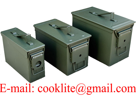 Metal Ammo Box Ammunition Can - M19A1/M2A1/PA108