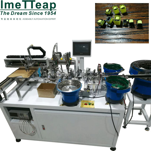 Transformer Core Assembly-Taping-Testing Machine
