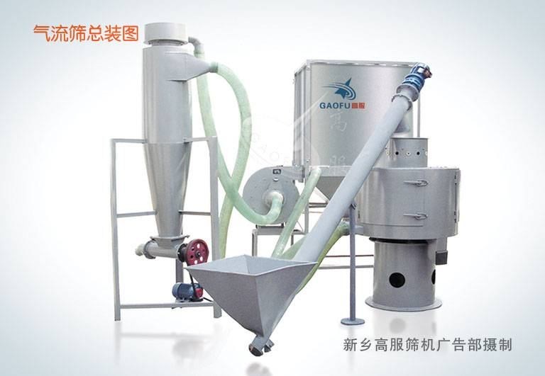 Centrifugal sifter machine for 400 mesh activated calcium