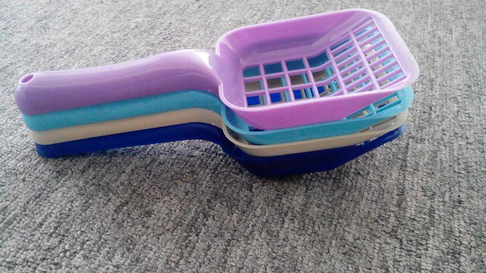 pet product custom plastic cat litter scoop