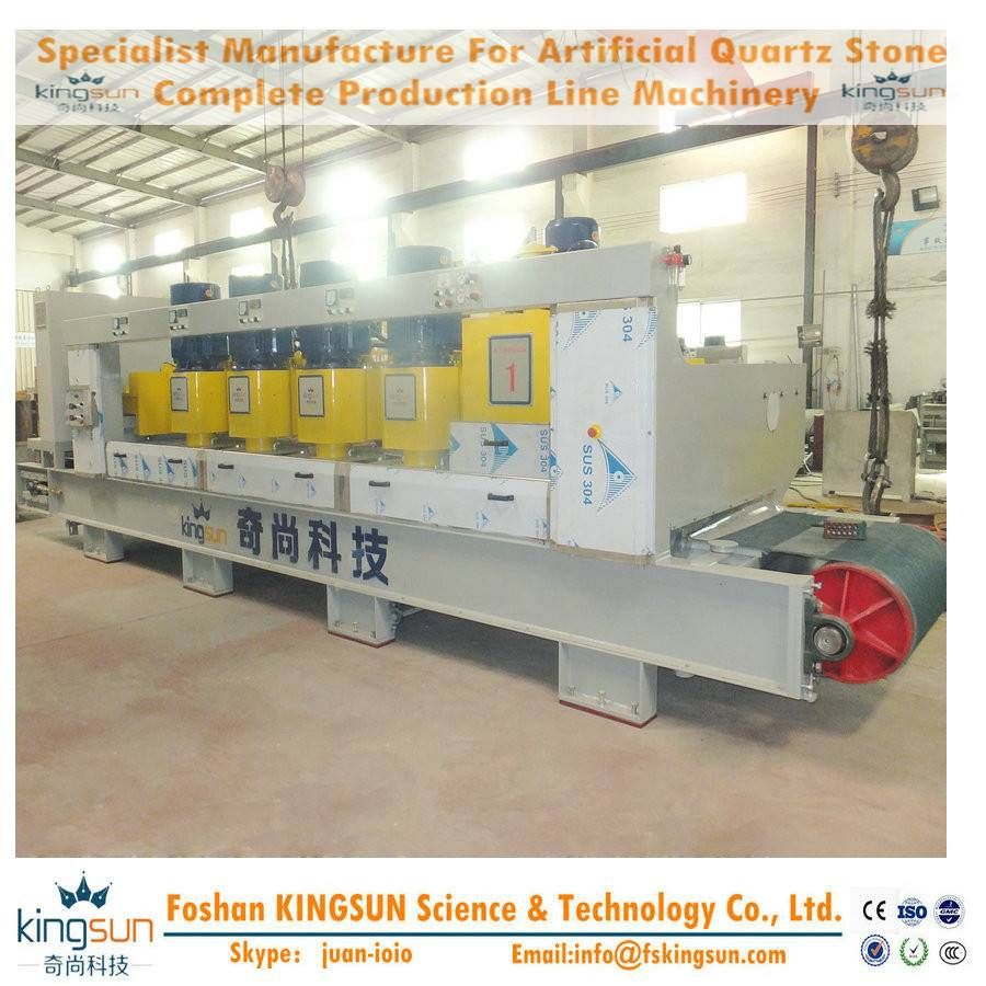quartz stone calibrator/artificial stone slab calibrating machine