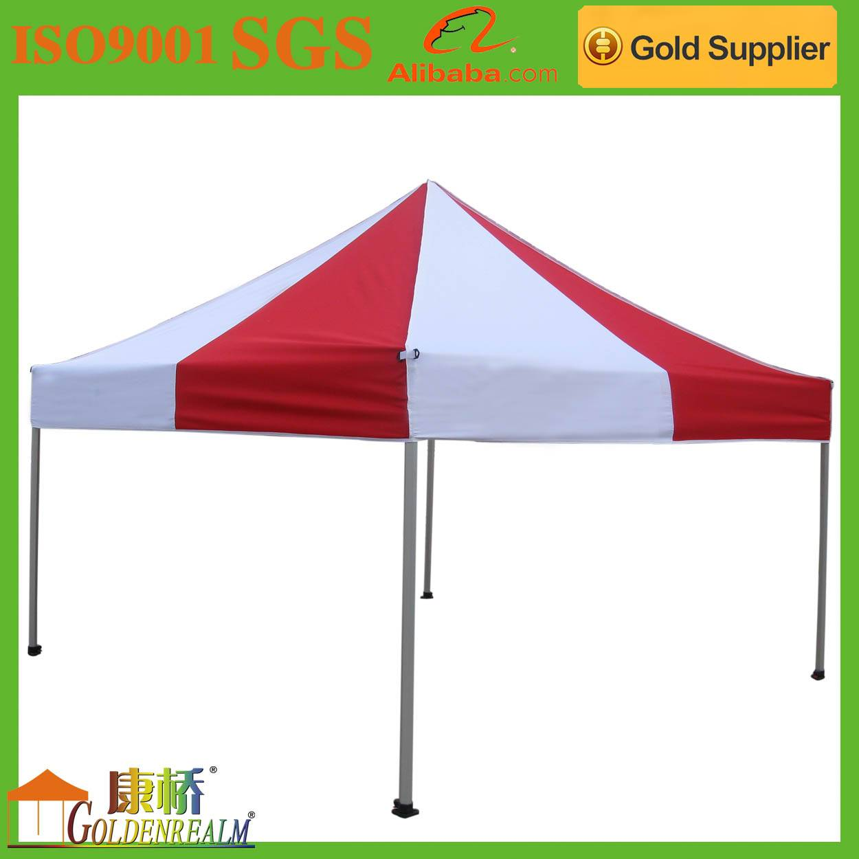 Portable custom made hot sale silk screen printing advertising folding tent