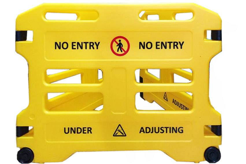Elevator PE Maintenance Safety Barrier 3pieces