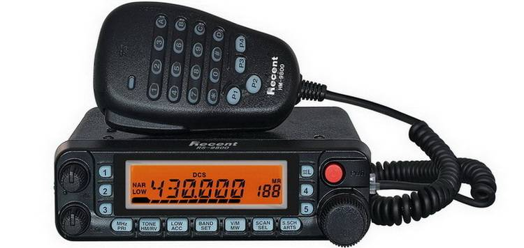 RS-9800 Dual Band Mobile Radio
