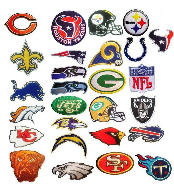 32 teams American footabll teams NFL patch