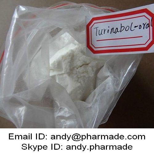99% USP BP Turinabol Tbol 4-Chlorodehydromethyl Testosterone Powder Muscle Building
