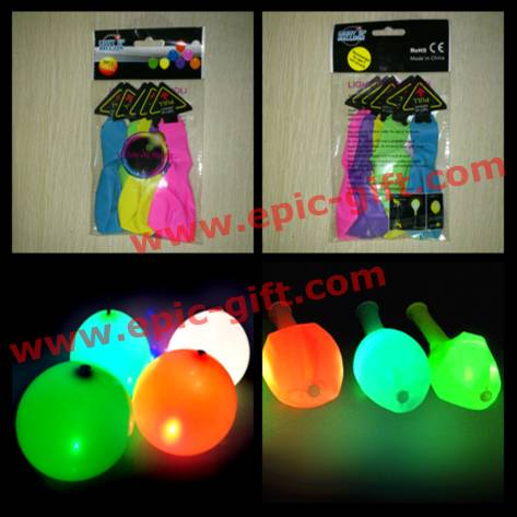 LED flashing balloon for party decoration