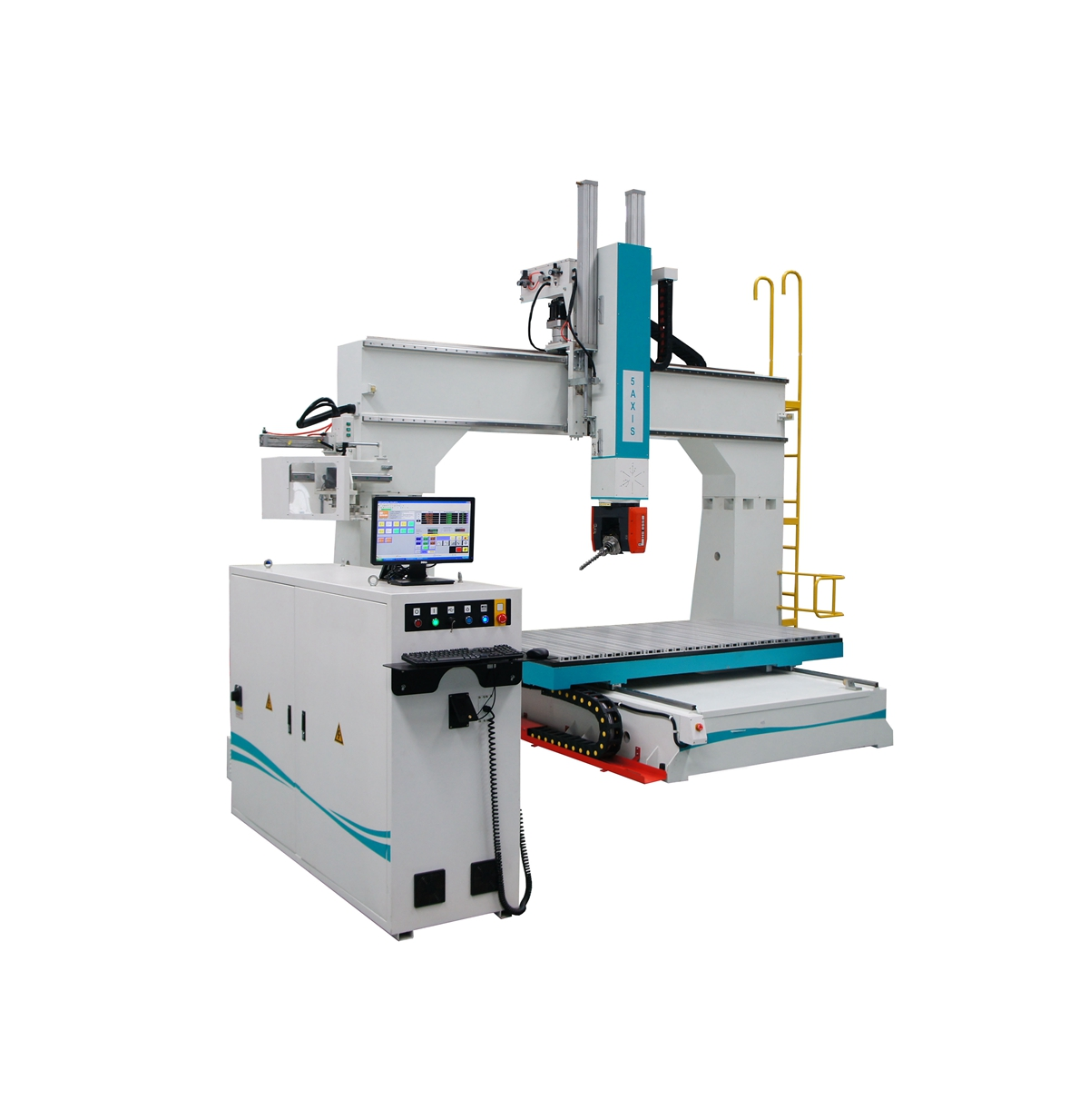 360 degree spindle heads rotation 5 axis cnc router 3d engraving machine metal