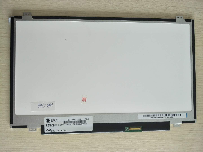 HB140WX1-301 BOE 14'' LCD 1366×768