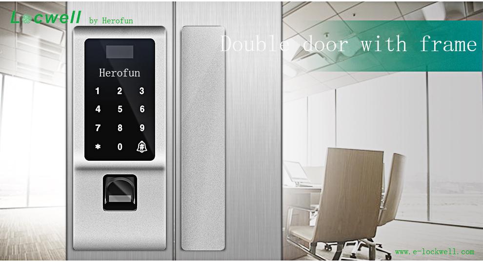 Zinc Alloy Fingerprint Biometric Smart Door Lock