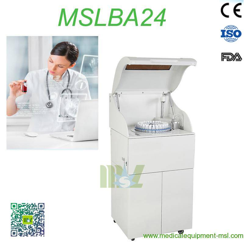 2016 New Full automatic Biochemical Analyzer MSLBA24