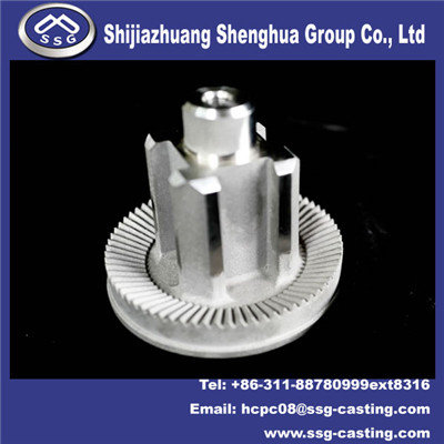 Investment Casting Machine Parts Gear Shaft